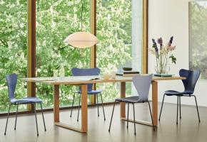 3107 Stuhl Fritz Hansen Arne Jacobsen