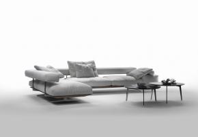 Wing Sofa Flexform Ecksofa