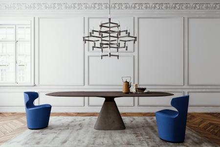 Jehs + Laub Bridge Tisch Studio by Mobimex